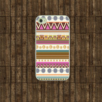 Iphone case  Pink  Aztec 001   Iphone 4 case  Iphone by TitanCases