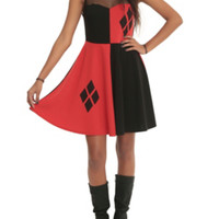 DC Comics Harleen Harley Quinn Mesh Dress