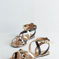 ModCloth Walk your Socks Off Sandal