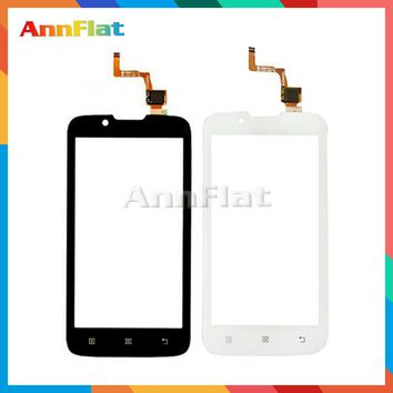 "High Quality 4.5"" For Lenovo A328 Touch Screen Digitizer Front Glass Lens Sensor Panel Free Shipping"