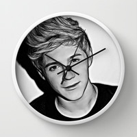 Niall Horan  Wall Clock by D77 The DigArtisT