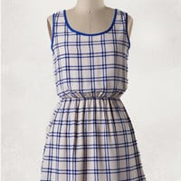 You, Tartan. Me, Jane Dress