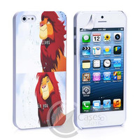 The King Of Lion Simba Disney iPhone 4, 4S, 5, 5C, 5S Samsung Galaxy S2, S3, S4 Case