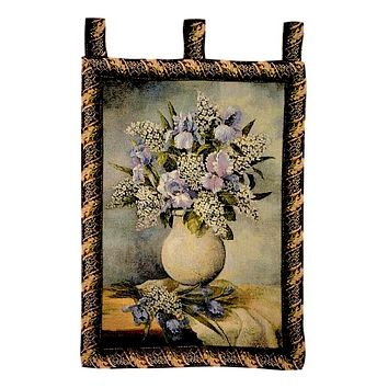 Tache 33 x 24 Inch Beautifully Captured Floral Tapestry Wall Hanging (WH-13058)
