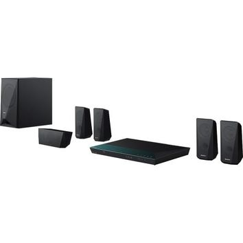 Sony - 5.1-Ch. 3D / Smart Blu-ray Home Theater System - Black