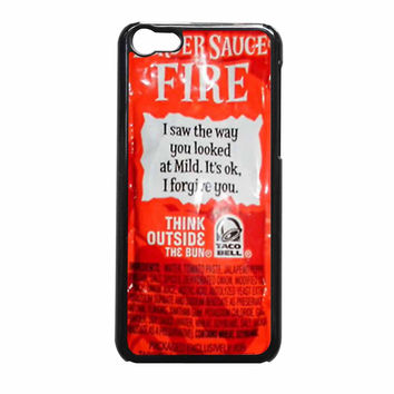 Taco Bell Sauce Fire Cover iPhone 5c Case