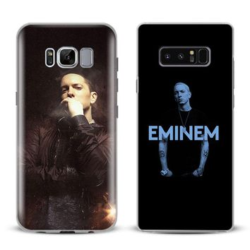 Eminem Rap god Phone Case For Samsung Galaxy S4 S5 S6 S7 Edge S8 S9 Plus Note 8 2 3 4 5 A5 A7 J5 2016 J7 2017 Cover Shell