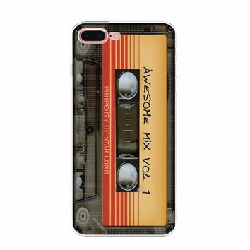 Retro Cassette Tapes, Radio and Cameras Design iPhone Case For iPhone 8, 8 Plus, X