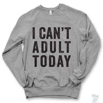 Can't Adult Sweater