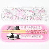 Hello Kitty Lunch Trio with Belt: Bows