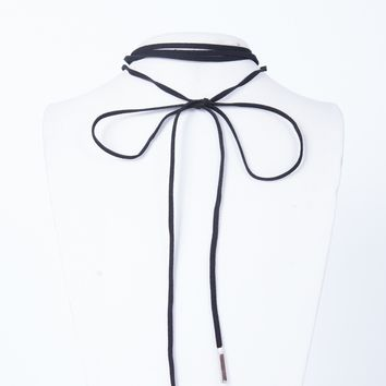 Wrapped Bar Necklace