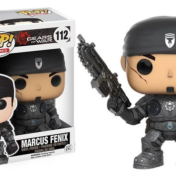 Gears of War Marcus Fenix Funko Pop! Vinyl Figure #112