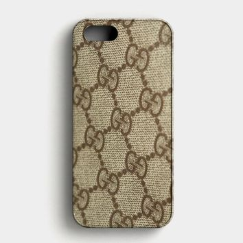 Gucci Texture Zooming iPhone SE Case
