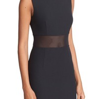 Elizabeth and James Jackie Mesh Inset Dress | Nordstrom