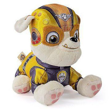 "Paw Patrol Air Rescue Pup Pals Rubble 8"" Plush"