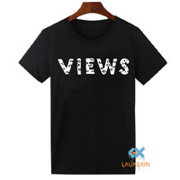 Views from the Six T-Shirt Drake Shirt Views from 6 Shirt OVO Swag Tops Tee Shirts UNISEX Hipster Tshirt US Size