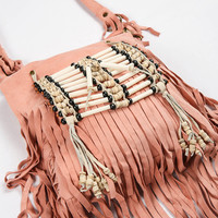 Wild Belle Cross Body Pouch - Coral