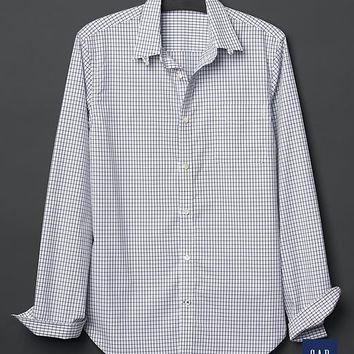 Gap Men + GQ David Hart Windowpane Shirt