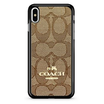 Coach Logo 2 iPhone X Case