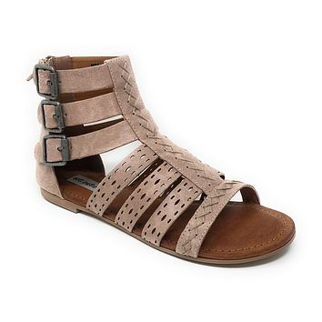 Not Rated Chile Beige Gladiator Sandals