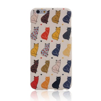 I am a Cat 4 Creative Handmade iPhone Cases for 5S 6 6S Plus
