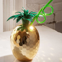 Disco Pineapple Sipper Cup | Urban Outfitters
