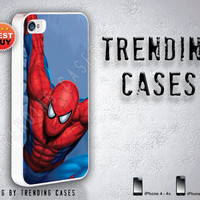 iPhone 4-4s iPhone 5 case The Amazing Spiderman -Gift- Gadget. Spiderman. cartoon case. Gear for iPhone, iPhone skin. Christmas Gift