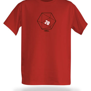 I Win T-Shirt - Red,
