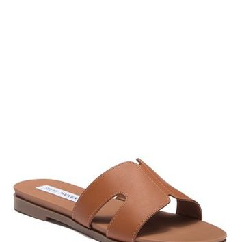 Steve Madden | Hoku Leather Slide Sandal | Nordstrom Rack