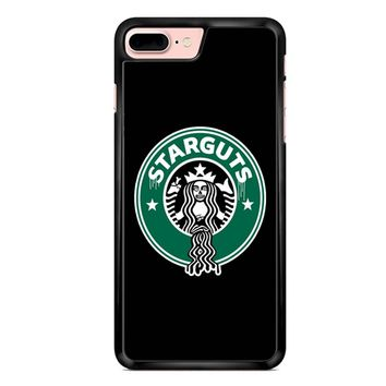 Funny Starbucks Logo Parody iPhone 7 Plus Case