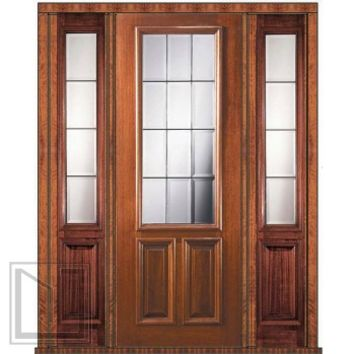 Best mahogany doors with sidelights products on wanelo Prehung exterior door with sidelights