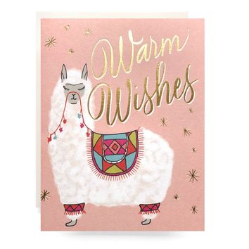 Alpaca Warm Wishes