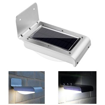 AGM LED Solar Wall Lamp Powerful Solar Charge Panel Energy Light Outdoor Body Motion Sensor Waterproof Sunlight For Garden Path