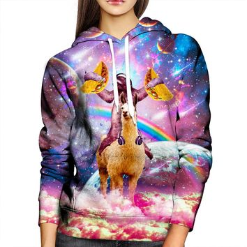 Sloth And Friends Womens Hoodie