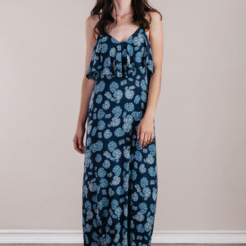 Don't Leaf Me Maxi Dress