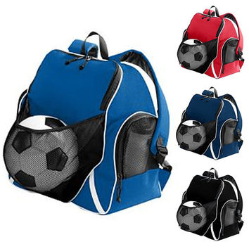 Athletic Sports Backpack Asst Colors FREE Personalization Ball Backpack Gym Bag Overnight Bag School Soccer Bag Basketball Volleyball