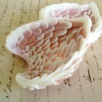 2 Angel Wing Gift soap by SatinandBirch on Etsy
