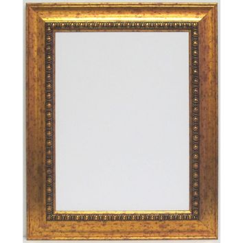 Harvest 28 in. x 34 in. Gold Framed Wall Mirror-4444 at The Home Depot