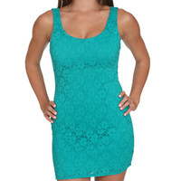 Lace Tank Bodycon Dress | Shop Dresses at Wet Seal