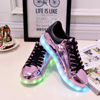 Led Light Shoes Different Color Party and Casual Wear, Rechargeable---Welcome To Future---