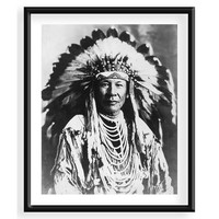 Chief Duck, Blackfoot Tribe, Photographs