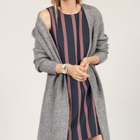 Halogen® Long Ribbed Cardigan (Regular & Petite) | Nordstrom