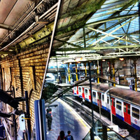 Day Commuters | Abstract Photography | London | Transportation | London Underground
