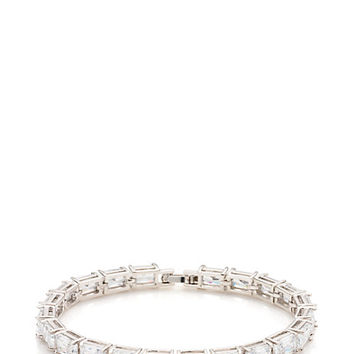 Kate Spade Catching Light Tennis Bracelet Clear One