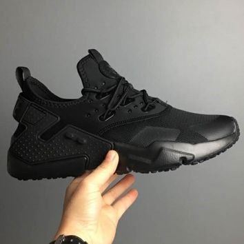NIKE Air Huarache Drift PRM  Fashion Casual Running Sport Casual Shoes Sneakers Black G-CSXY