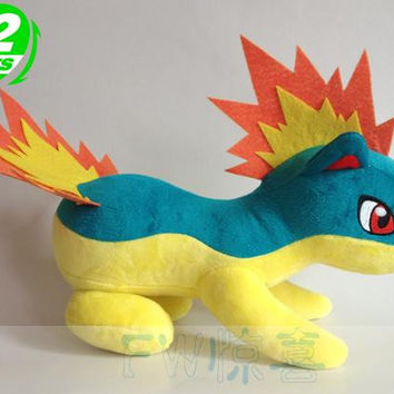 "pokemon Quilava 12""dolls stuffed plush toy gifts new arrival"