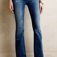 Mother Cruiser Flare Jeans Rough It Up