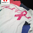 Think Pink Long Sleeve Breast Cancer T-Shirt