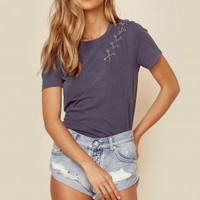 GAIA SHORT SLEEVE TOP