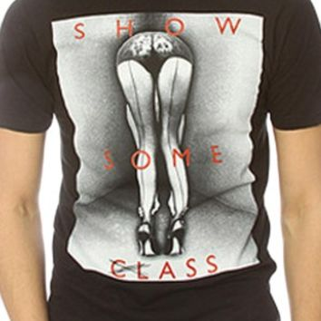 Men's Show Some Class T-Shirt - Black